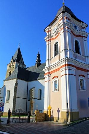 Kościół parafialny w Lesku