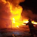 Pożar w Wetlinie