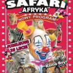 plakat cyrk Safari Lesko