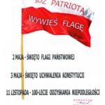 Leska akcja patriotyczna na Święto 2 maja: wywieś flagę!