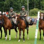 Parada Straży Granicznej w Lutowiskach