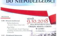 Konferencja z okazji odzyskania Niepodległości