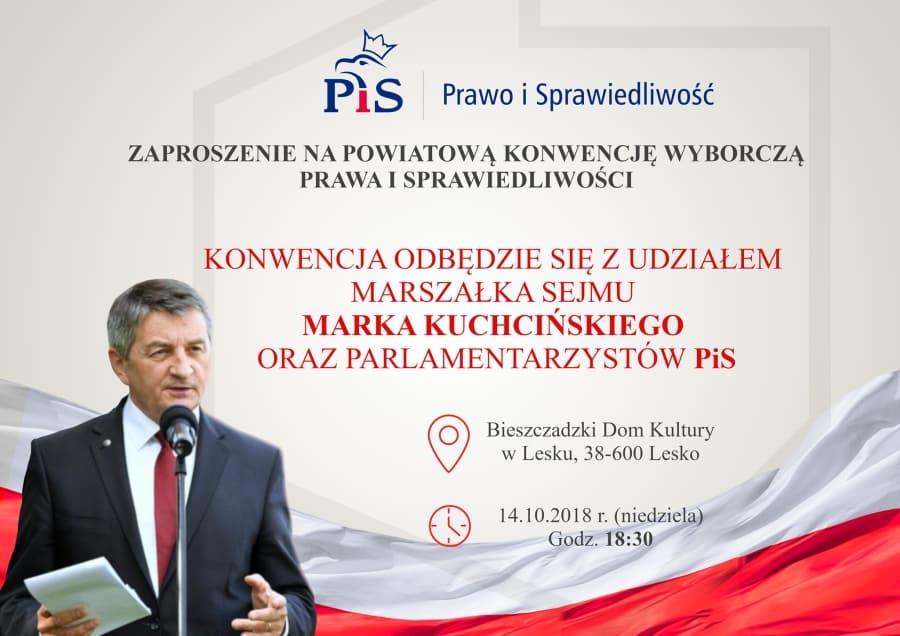 Konwencja PiS Lesko