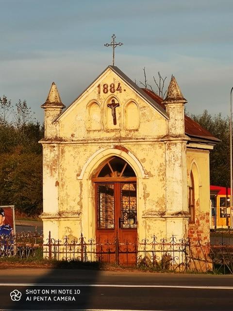 Kapliczka 1884 r. w Lesku