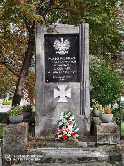 Pomnik Milicjantów w Lesku