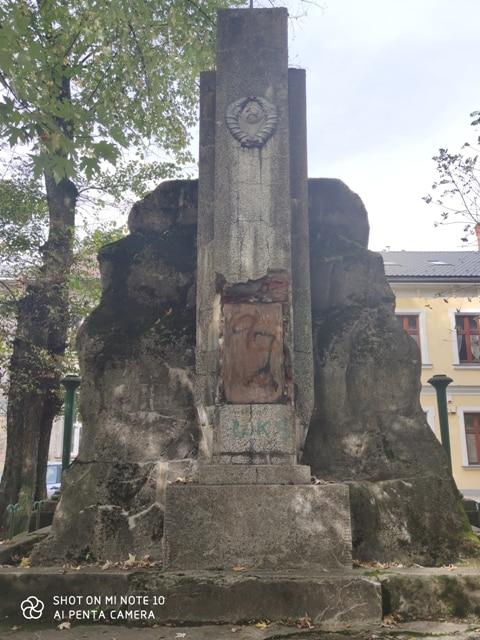 Pomnik Żołnierzy Armii Czerwonej w Lesku