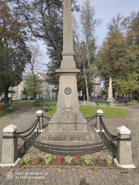 Pomnik Tadeusza Kościuszki w Lesku