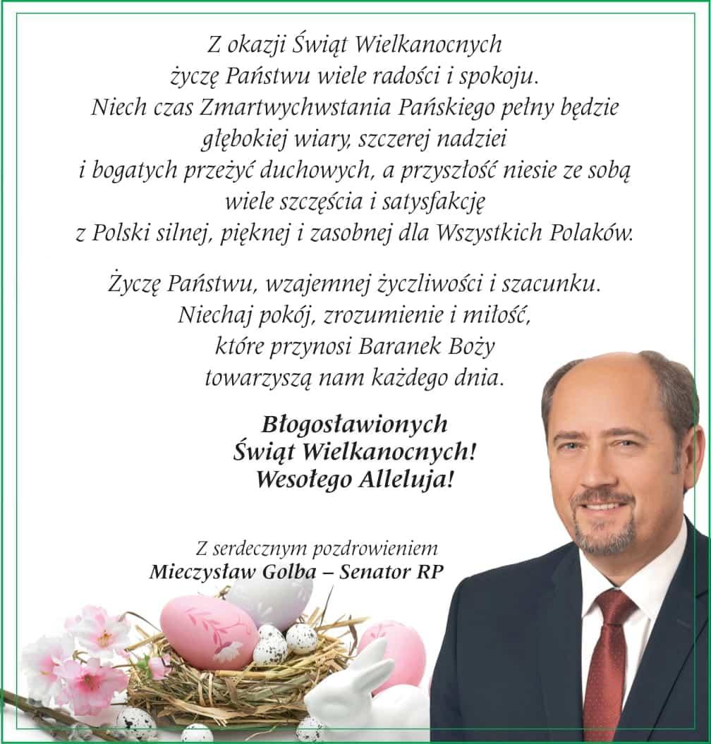 Życzenia. Mieczysław-Golba